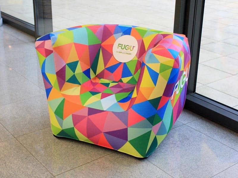 aufblasbare möbel mit led-beleuchtung für innen und außen von fugu, Mobel ideea