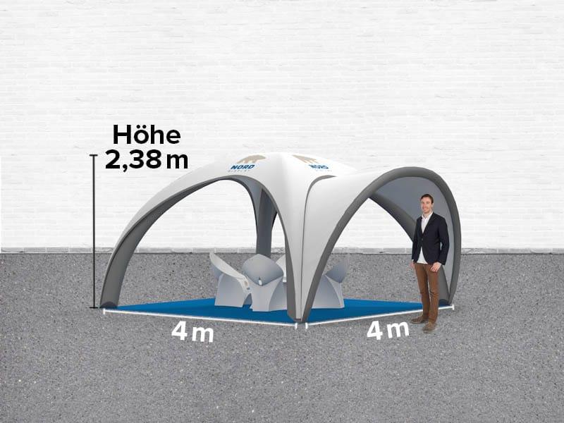 systembeispiel 11 4x4 m messestand nord display. Black Bedroom Furniture Sets. Home Design Ideas