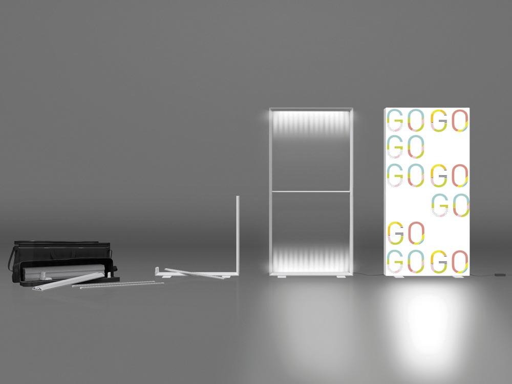 pixlip go beleuchteter messestand voll hinterleuchtete. Black Bedroom Furniture Sets. Home Design Ideas