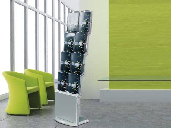 realbig prospektst nder f r din a4 brosch ren nord display. Black Bedroom Furniture Sets. Home Design Ideas