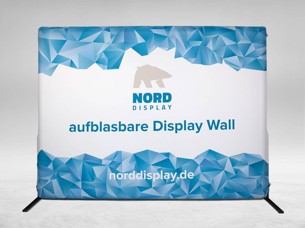 Aufblasbares Indoor Display Wandsystem - Nord Display